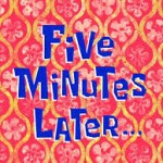 fiveminutesspongebob